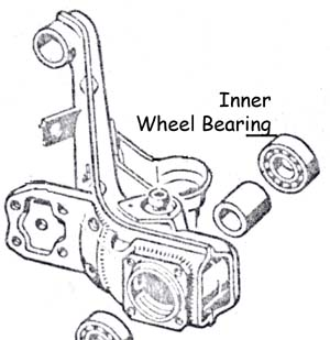 rear wheel bearing  inner  irs 69-79