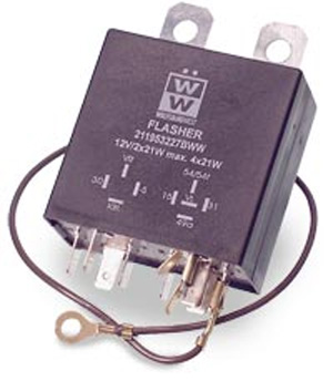 Turn Signal Flasher Relay 12v For Cars With Emergency Flashers 1967 1968 Pierside Parts