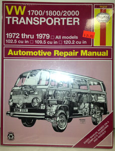 Haynes 72-79 Bus repair manual
