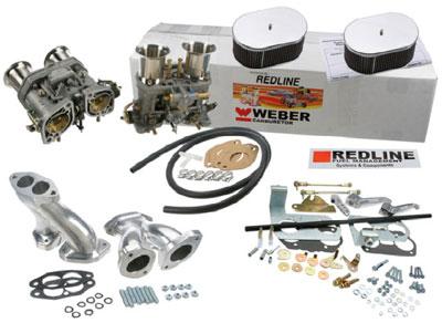 Redline Weber Dual 44 IDF Kit Type 1