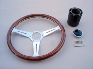 ISP VW Bug Ghia Type 3 Replica Nardi Wood Steering Wheel