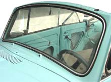 convertible windshield clear super beetle 39 73 39 79. Black Bedroom Furniture Sets. Home Design Ideas