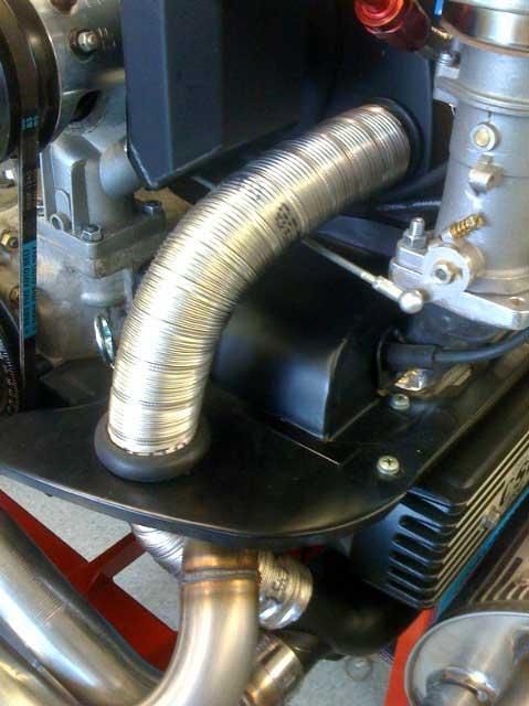 German Stainless Steel Heater Hose - Each