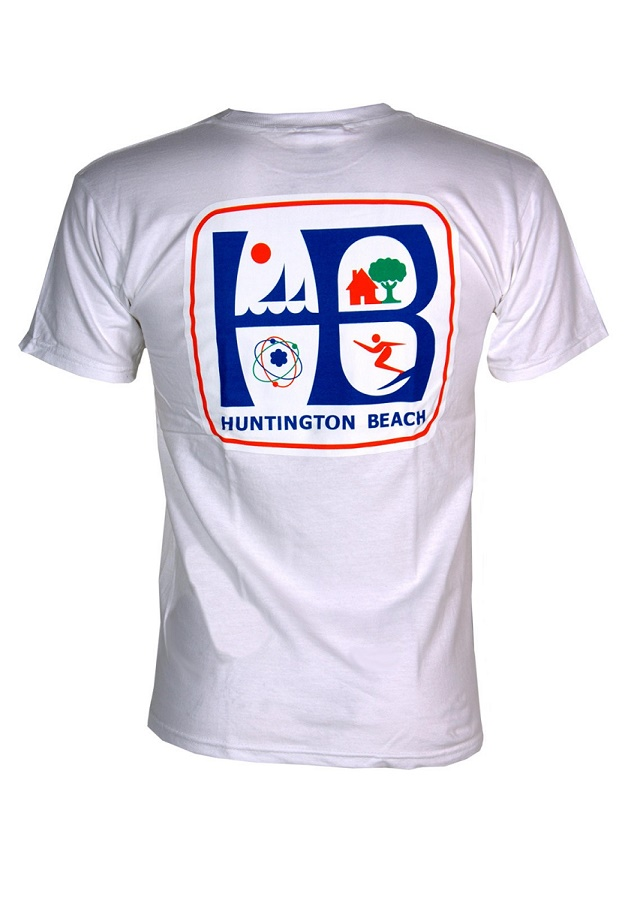 Huntington Beach City T Shirt Pierside Parts