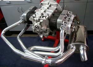 A1 Sidewinder Exhaust System For Type 3, 1 5/8