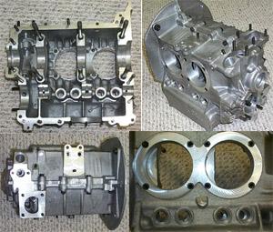 New Engine Case 1500 1600 Cc Dual Relief Aluminum